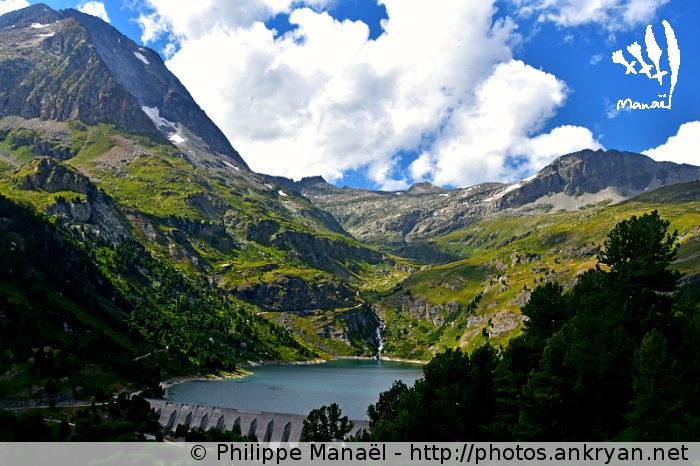 Lac de Plan d'Amont, Aussois (Vanoise, Savoie, France)