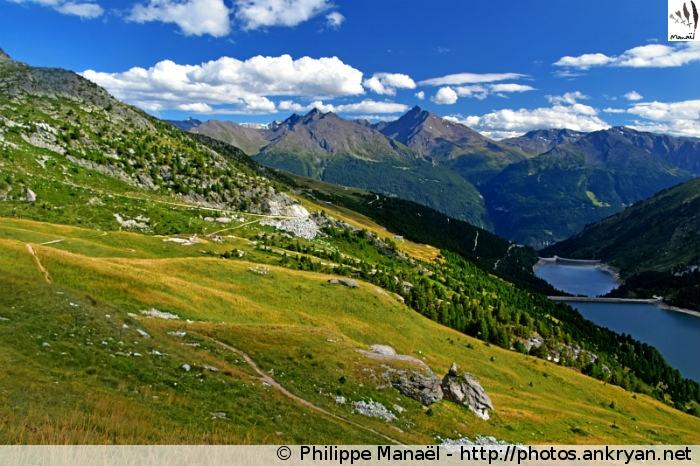 La traversée de la Vanoise (trekking). France, Rhône-Alpes, Savoie