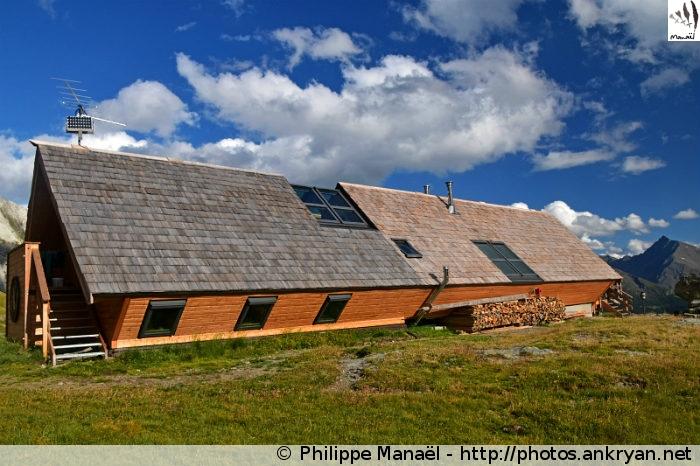 Refuge de la Dent Parrachée, Aussois (Vanoise, Savoie, France)