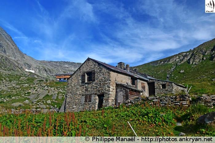 Chalet de la Marie, Fond d'Aussois (Vanoise, Savoie, France)