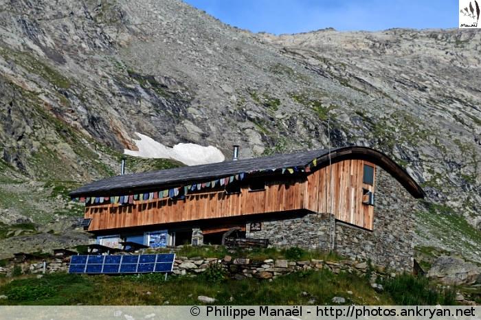 Refuge du Fond d'Aussois (Vanoise, Savoie, France)