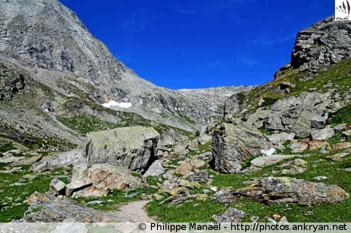 Dessous le Col d'Aussois 1 (Vanoise, Savoie, France)