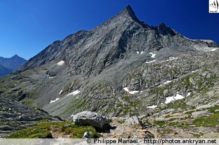 Pointe de l'Échelle, Dessous le Col d'Aussois (Vanoise, Savoie, France)