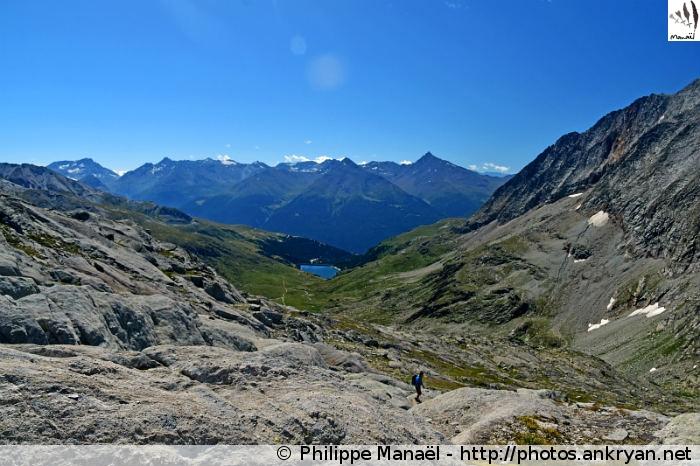 Vallée de la Haute Maurienne, col d'Aussois (Vanoise, Savoie, France)