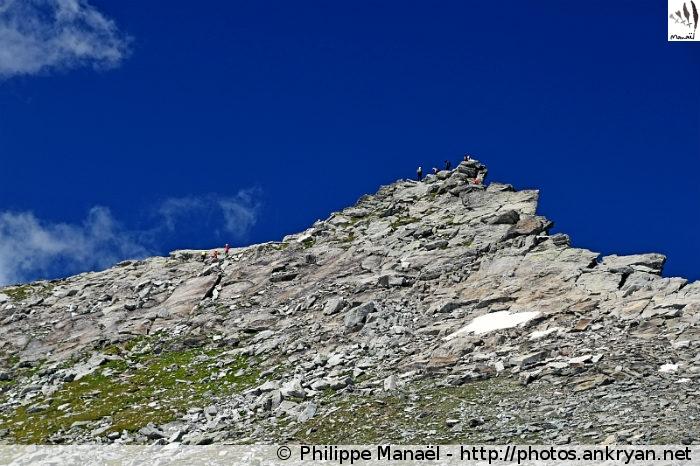 Pointe de l'Observatoire, col d'Aussois (Vanoise, Savoie, France)