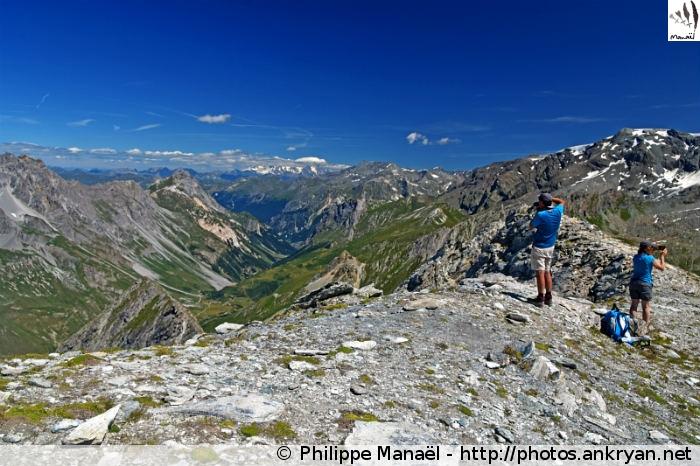 Vallée de Chavière, col d'Aussois (Vanoise, Savoie, France)