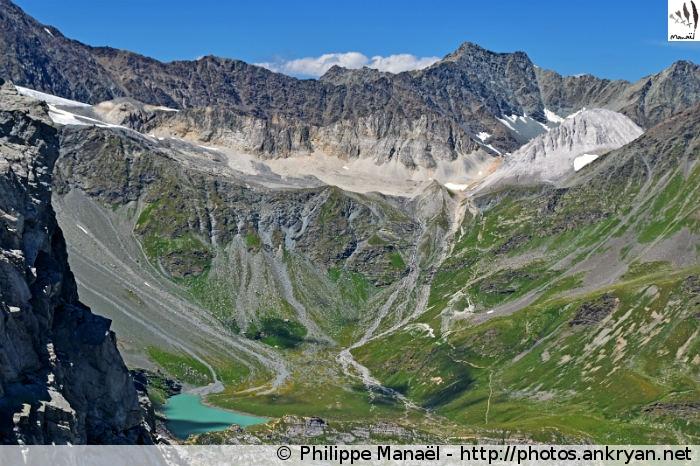 Massif glaciaire de Péclet-Polset, col d'Aussois (Vanoise, Savoie, France)