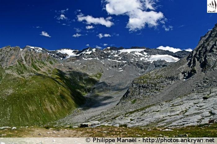 Glacier de Rosoire (Vanoise, Savoie, France)