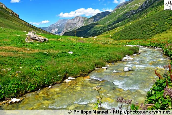 Doron de Chavière, vallée de Chavière (Pralognan-la-Vanoise, Savoie, France)