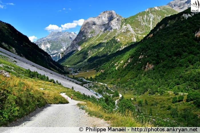 Pont de la Pêche, vallée de Chavière (Pralognan-la-Vanoise, Savoie, France)