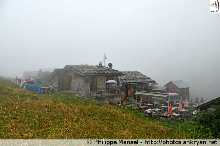 Refuge Le Repoju, les Prioux (Pralognan-la-Vanoise, Savoie, France)