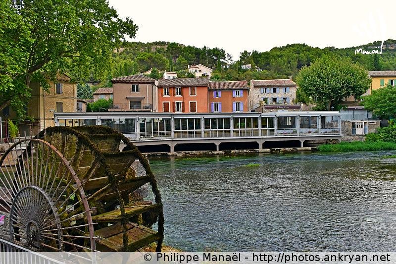 Roue à aubes, Fontaine-de-Vaucluse (Provence, Vaucluse, France)