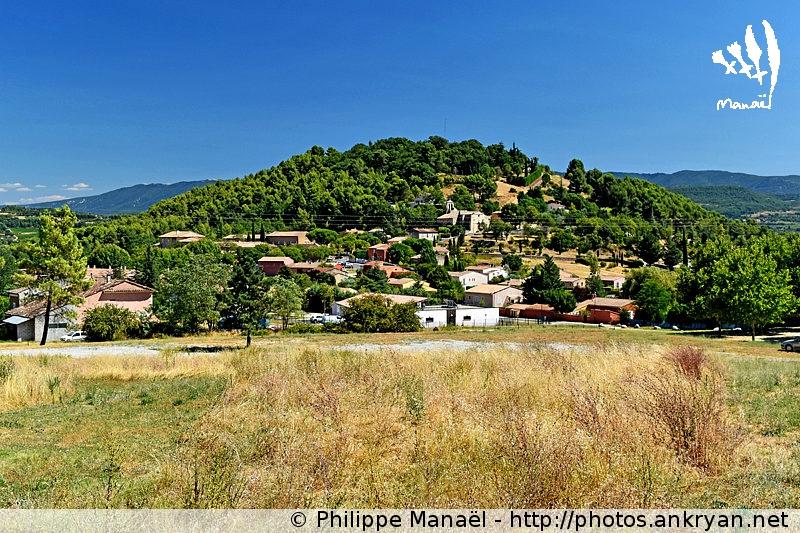 Village de Gargas dans le Luberon (Provence, Vaucluse, France)