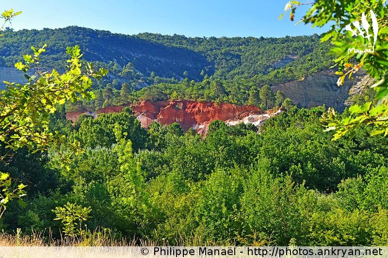 Colorado provençal de Rustrel, Luberon (Provence, Vaucluse, France)