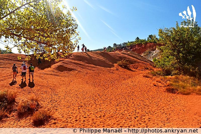 Colorado provençal de Rustrel : le Sahara, Luberon (Provence, Vaucluse, France)