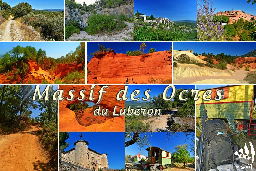 Souvenirs du massif des Ocres du Luberon 2020 (Trekking Provence, Vaucluse, France)