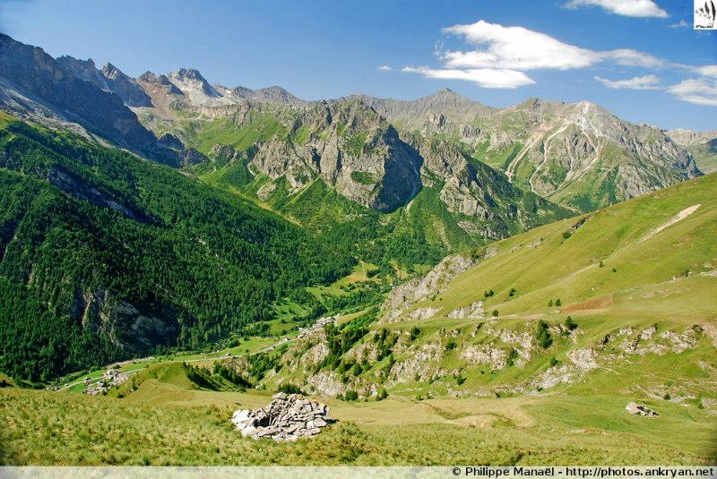 Hautes vallées piémontaises (trekking). Italie, Piémont, Coni
