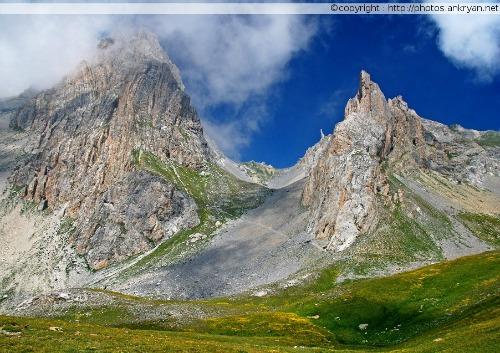 Chialvetta - Chiappera (trekking Hautes vallées piémontaises). Italie, Piémont, Coni