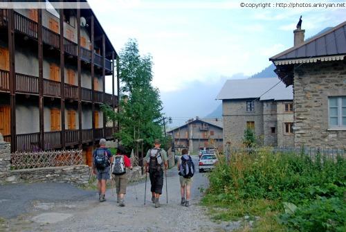 Village de Chianale (Piémont, Italie)