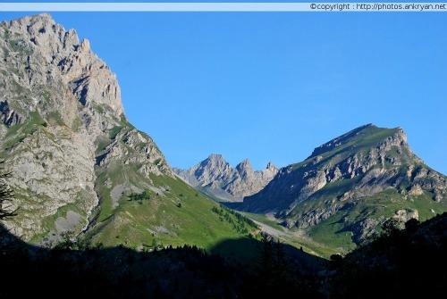 Montagnes du Haut Val Maïra (Piémont, Italie)