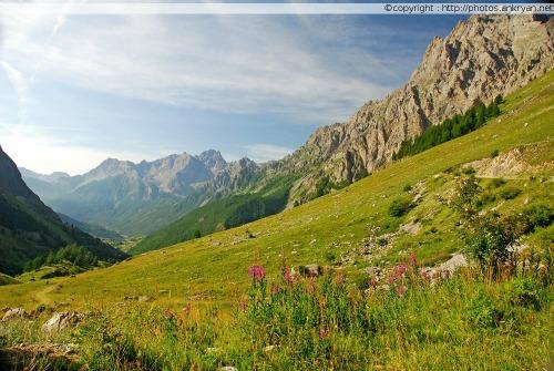 Chiappera - Chiesa (trekking Hautes vallées piémontaises). Italie, Piémont, Coni