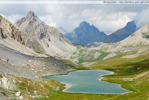 Col de Larche - Chialvetta (trekking Hautes vallées piémontaises). Italie, Piémont, Coni