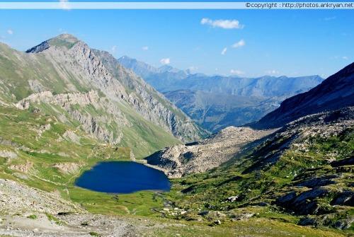 Refuge Agnel - L'Echalp (trekking Hautes vallées piémontaises). France, PACA, Hautes-Alpes