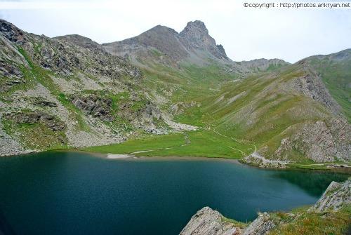 Chianale – Refuge Agnel (trekking Hautes vallées piémontaises). Italie, Piémont, Coni