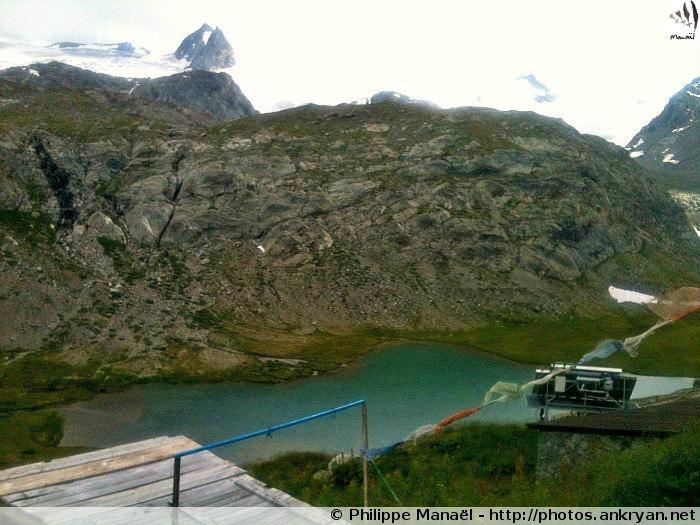 Lac du Ruitor, refuge Deffeyes (Vallée d'Aoste, Italie)