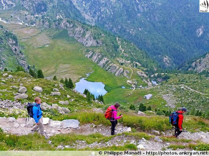 Lac du Glacier du Ruitor (Vallée d'Aoste, Italie)