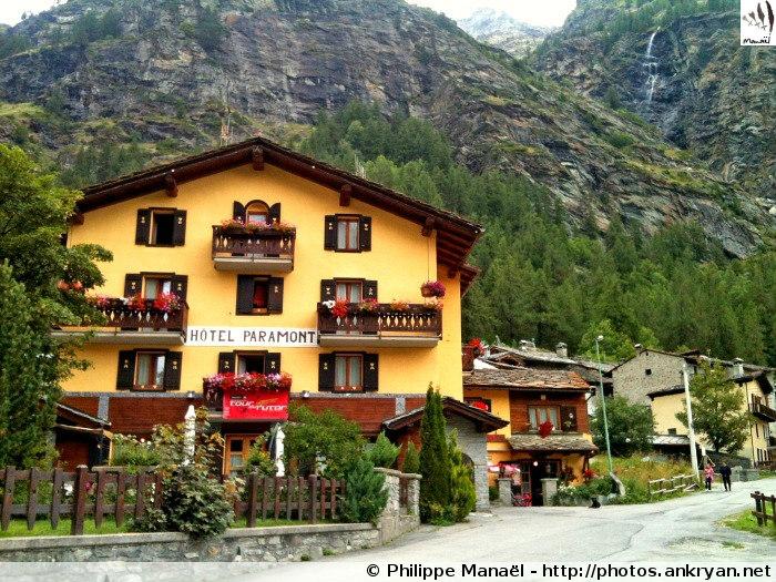Hôtel Paramont, Planaval (Vallée d'Aoste, Italie)