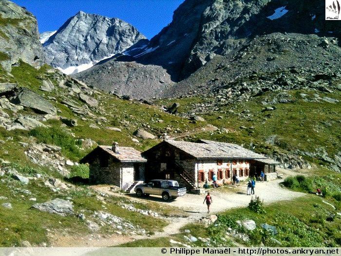 Refuge du Chalet de l'Epée (Vallée d'Aoste, Italie)