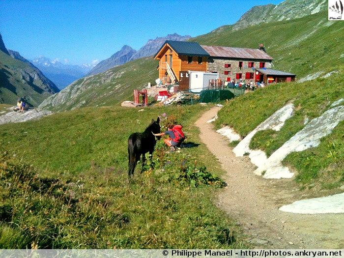 Refuge Benevolo (Val de Rhêmes, Italie)