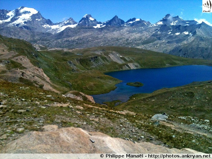 Massif du Grand Paradis (trekking). Italie, Vallée d'Aoste
